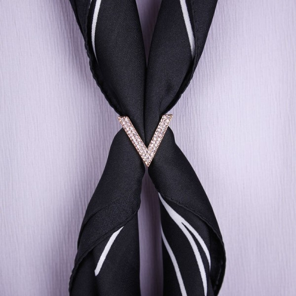 Anneau de foulard V – Or Rose