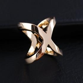 Anneau de foulard X - Or
