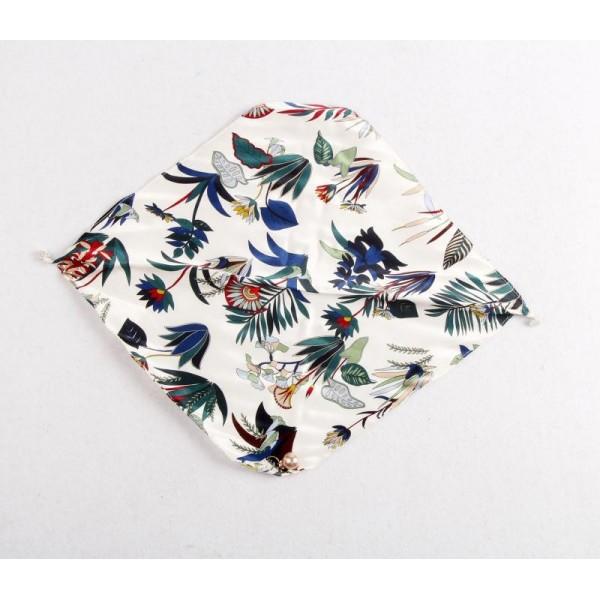 Collier en soie - Botanic