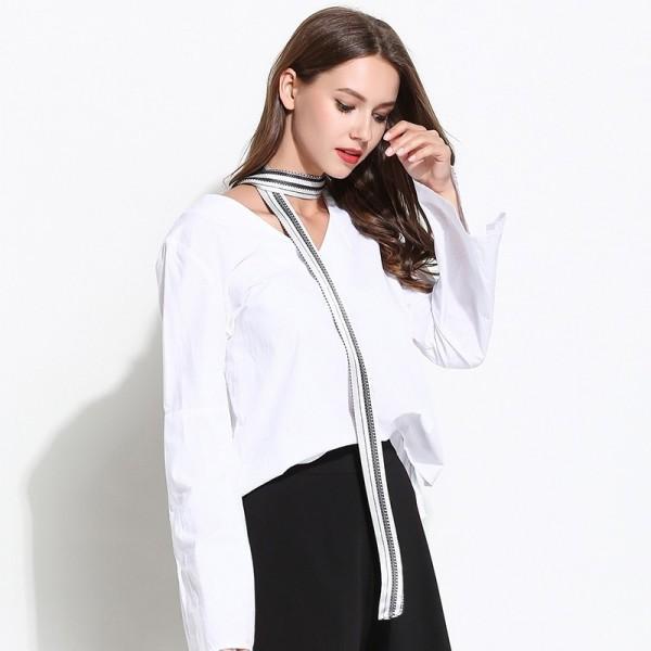 Foulard bandeau Stella blanc