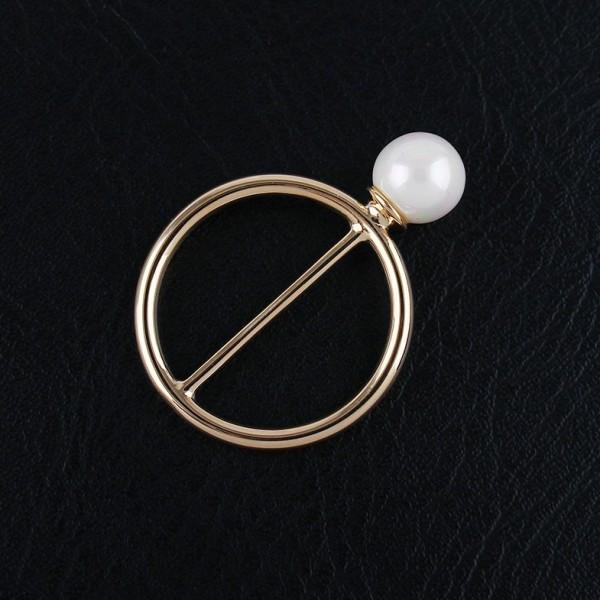 Anneau de foulard Perle - Or