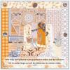 Grand Foulard en Soie Femme Orange ★ Triomphe